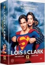 lois og clark - sæson 1+2 - DVD