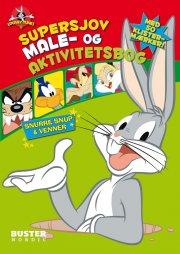looney tunes: supersjov male- og aktivitetsbog - bog