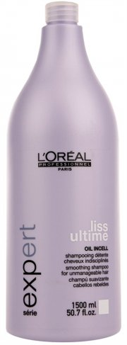 loréal serie expert - liss ultimate shampoo 1500 ml. - Hårpleje