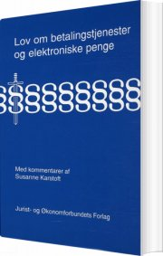 lov om visse betalingstjenester og elektroniske penge - bog