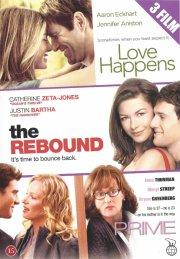 prime // the rebound // love happens - DVD