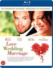 love wedding marriage - Blu-Ray
