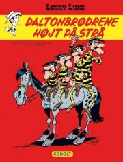 lucky luke: daltonbrødrene højt på strå - bog