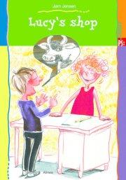 kommas easy reading: lucy's shop - bog