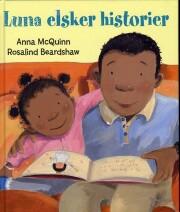 luna elsker historier - bog