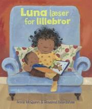 luna læser for lillebror - bog