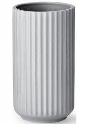 lyngby vase 25 cm grå - lyngby by hilfling vasen - Til Boligen