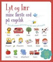lyt og lær - mine første ord på engelsk - bog