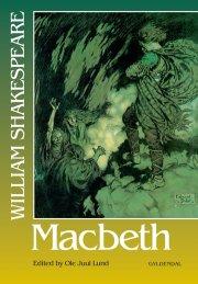 macbeth af william shakespeare - bog