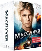 macgyver box - komplet - sæson 1-7 - DVD