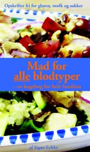 mad for alle blodtyper - bog
