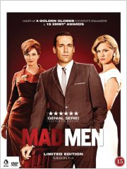 mad men - sæson 1-4 - DVD