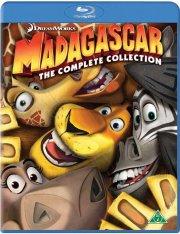 madagascar 1-3 box - den komplette samling - Blu-Ray