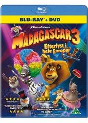 madagascar 3 - efterlyst i hele europa  - blu-ray+dvd