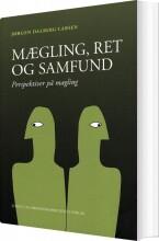 mægling, ret og samfund - bog