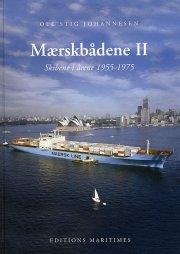mærskbådene skibene i årene 1955-1975 - bog