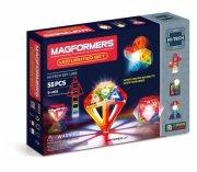 magformers lighted set - 55 dele - Byg Og Konstruér