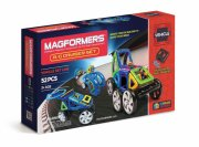 magformers rc cruisers samlesæt - rc / fjernstyret bil - Fjernstyret Legetøj