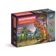 magformers walking dinosaur set - 81 dele - Byg Og Konstruér