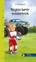 magnus kører monstertruck - bog