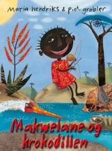makwelane og krokodillen - bog