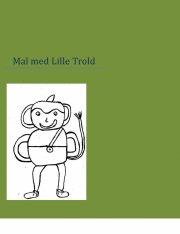 mal med lille trold - bog
