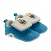 manchester city merchandise - babystøvler med velcro - 6-9mdr - Merchandise