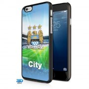 manchester city cover til iphone 6 - hard case cover - 3d - Merchandise