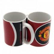 manchester united football mug with logo - Merchandise