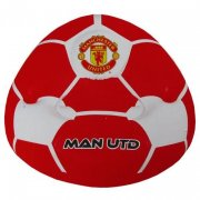 manchester united stol - oppustelig fodbold stol - Til Boligen