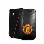 manchester united merchandise - cover / læderetui til smartphone - lille - Merchandise