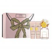 marc jacobs - daisy eau so fresh - edt 75ml + body lotion 75ml +shower gel 75ml - gavesæt - Parfume
