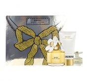 marc jacobs - daisy - edt 100 ml +body lotion 150 ml + mini deluxe - gavesæt - Parfume