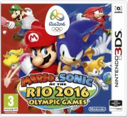 mario & sonic at the rio 2016 olympics games - nintendo 3ds