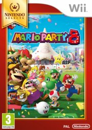 mario party 8 (select) - wii