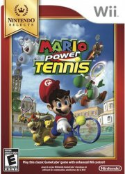 mario power tennis (select) - wii