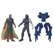 marvel - winter soldier and vision figure (b6146) - Figurer