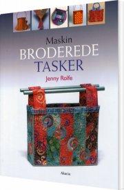 maskinbroderede tasker - bog