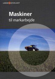 maskiner til markarbejde - bog