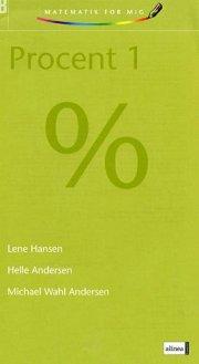 matematik for mig, procent 1 - bog