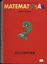 matematik-tak 2.kl. lærervejledning - bog