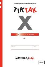 matematik-tak 2.kl. x-serien, tal - bog