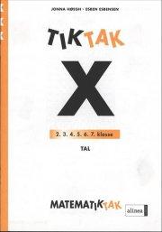 matematik-tak 3.kl. x-serien, tal - bog