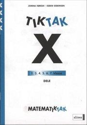 matematik-tak 4.kl. x-serien, dele - bog