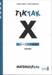 matematik-tak 4.kl. x-serien, gange - bog