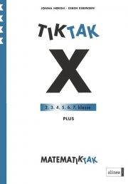 matematik-tak 4.kl. x-serien, plus - bog