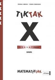matematik-tak 5.kl. x-serien, brøk - bog