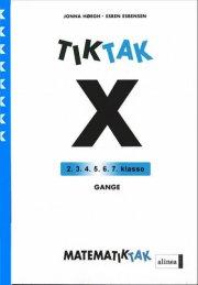 matematik-tak 5.kl. x-serien, gange - bog