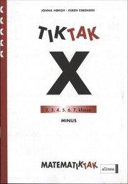 matematik-tak 5.kl. x-serien, minus - bog