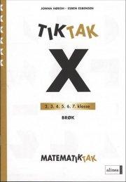 matematik-tak 6.kl. x-serien, brøk - bog